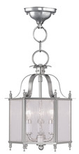 Livex Lighting 4397-91 - 3 Light BN Chain Hang/Ceiling Mount
