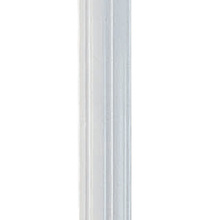 Livex Lighting 7708-03 - White Outdoor Cast Aluminum Fluted Post