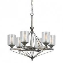 CAL Lighting FX-3538/6 - 6 LIGHTS CRESCO METAL CHANDELIER