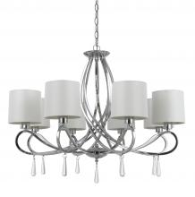 CAL Lighting FX-3562/8 - 60W X 8 E12 BOLSENA CHANDELIER
