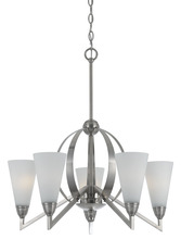 CAL Lighting FX-3508/5 - 60W X 5 CANROE 5 LIGHT CHANDELIER