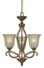 CAL Lighting FX-3512/3 - 60WX3 EMMETT IRON 3 LGT CHANDELIER