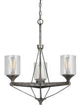 CAL Lighting FX-3538/3 - 3 LIGHTS CRESCO METAL CHANDELIER