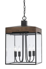 CAL Lighting FX-3581-4 - 60W X 4 ANTONIO LANTERN/CHANDELIER
