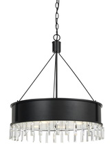 CAL Lighting FX-3611-4 - 60W X 4 ROBY METAL CHANDELIER