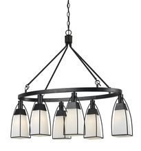 CAL Lighting FX-3612-6 - 60W X 6 CHANNING CHANDELIER