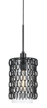 CAL Lighting FX-3643-1 - 60W Braccino chained glass pendant fixture