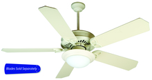 "Craftmade AT52AW - American Tradition 52"" Ceiling Fan in Antique White (Blades Sold Separately)"