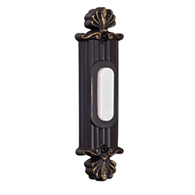 Craftmade BSSO-AZ - Surface Mount Straight Ornate LED Illuminated Push Button