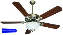 "Craftmade CCU52BN - Cecilia Unipack 52"" Ceiling Fan with Light in Brushed Satin Nickel (Blades Sold Separately)"