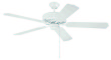 "Craftmade K10220 - 52"" Ceiling Fan with Blades Included"