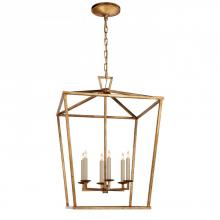 Visual Comfort CHC 2176GI - Darlana Large Lantern in Gilded Iron