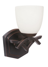 Jeremiah 14008OBG1-WG - 1 Light Wall Sconce