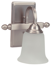 Jeremiah 15209BN1-WG - 1 Light Wall Sconce
