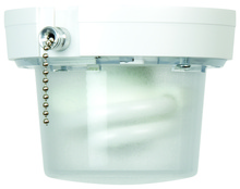 Jeremiah K212PC-CF - Small Space Lighting With Pull Chain
