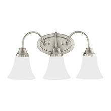 Sea Gull 44807-962 - Three Light Wall / Bath