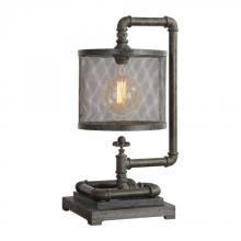 Uttermost 29555-1 - Uttermost Bristow Industrial Pipe Lamp