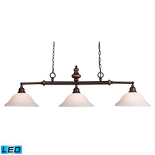 ELK Lighting 66175-3-LED - Lurray 3 Light LED Billiard In Aged Bronze