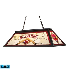 ELK Lighting 70053-4-LED - Tiffany Lighting 4 Light LED Billiard Light In T