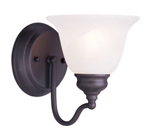 Livex Lighting 1351-07 - 1 Light Bronze Bath Light
