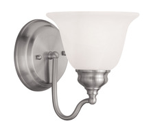 Livex Lighting 1351-91 - 1 Light Brushed Nickel Bath Light