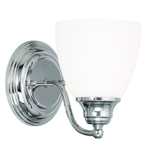 Livex Lighting 13671-05 - 1 Light Polished Chrome Wall Sconce