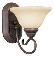 Livex Lighting 6101-58 - 1 Light Imperial Bronze Bath Light