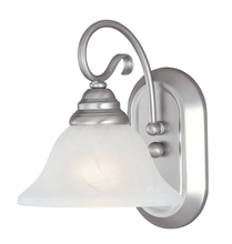 Livex Lighting 6101-91 - 1 Light Brushed Nickel Bath Light