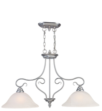 Livex Lighting 6132-91 - 2 Light Brushed Nickel Island