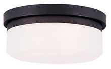 Livex Lighting 7390-07 - 2 Light Bronze Ceiling Mount