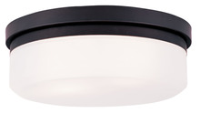 Livex Lighting 7392-07 - 2 Light Bronze Ceiling Mount