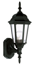 Livex Lighting 7551-04 - 1 Light Black Outdoor Wall Lantern
