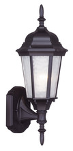 Livex Lighting 7551-07 - 1 Light Bronze Outdoor Wall Lantern