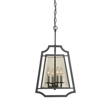 Savoy House 3-909-4-105 - Ives 4 Light Foyer Pendant