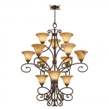 Kalco 5536AC/PS01 - Amelie 12 Light Chandelier