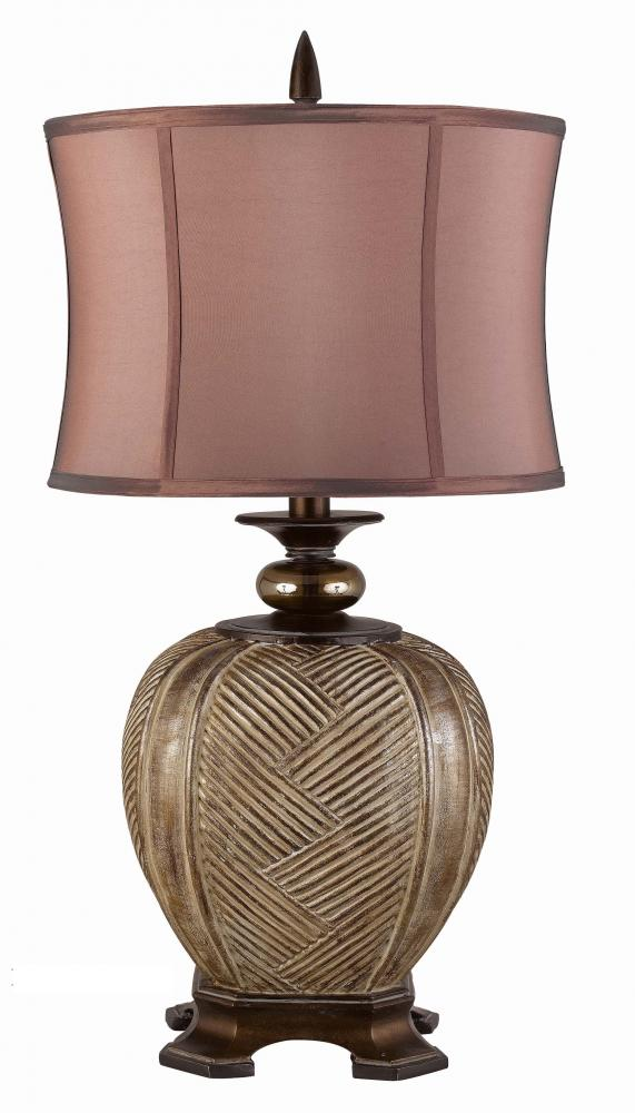 Champions Lighting in Houston, Texas, United States,  AY1J7, 150W 3WY FRIONA RESIN TABLE LAMP,