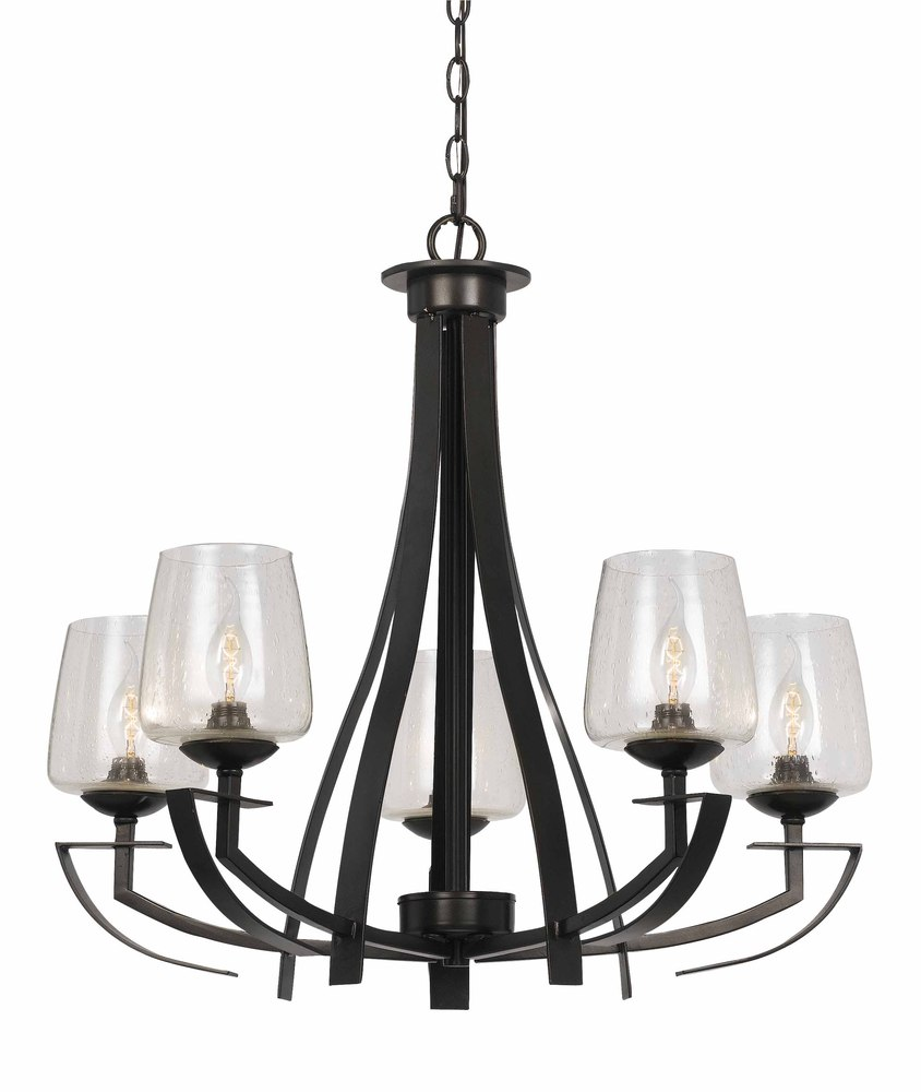 Champions Lighting in Houston, Texas, United States,  AY1L3, 60W X 5 METAL 5 LIGHT CHANDELIER,