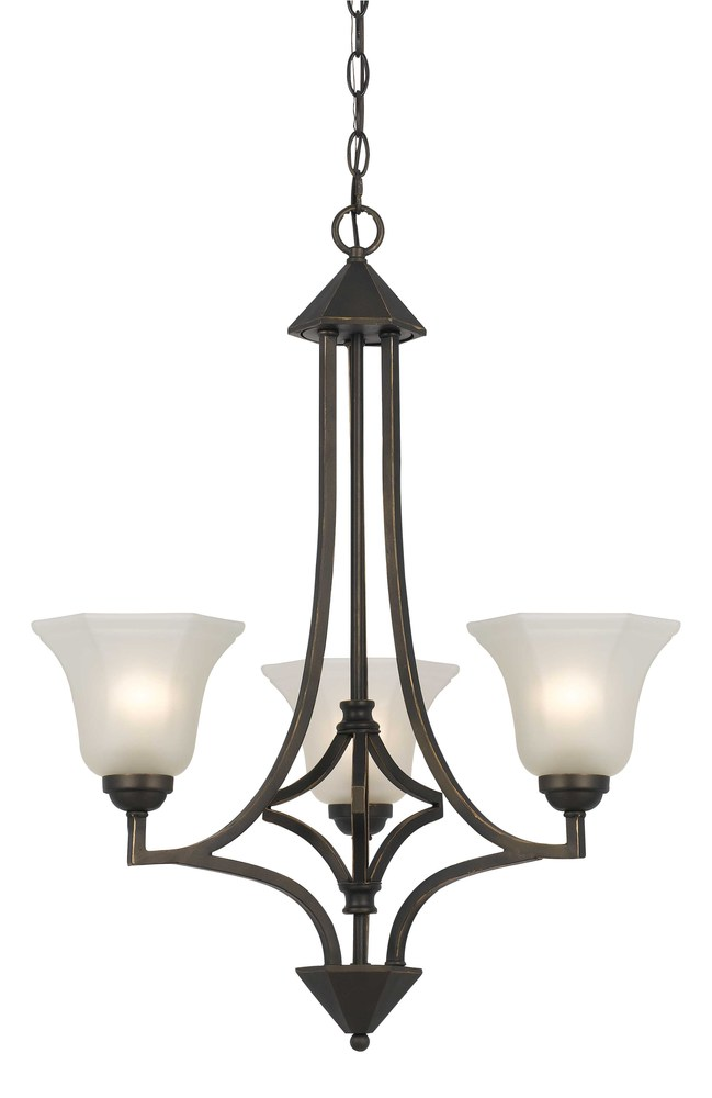 Champions Lighting in Houston, Texas, United States,  AY1L5, 60W X 3 METAL 3 LIGHT CHANDELIER, 60W Metal Chandelier