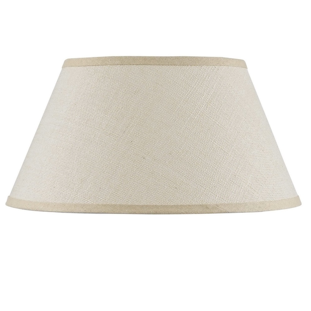 Champions Lighting in Houston, Texas, United States,  C74KR, Hardback fine burlap shade, Burlap Shade