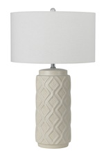 CAL Lighting BO-2592TB - 150W CERAMIC TABLE LAMP