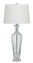 CAL Lighting BO-2685TB - 150W MEXIA GLASS TABLE LAMP