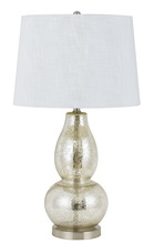 CAL Lighting BO-2705TB-2 - 150W 3 way Joliet glass table lamp (sold and priced as pairs)