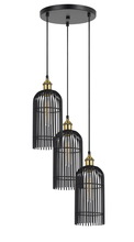 CAL Lighting FX-3626-3P - 60W X 3 BIRDCAGE METAL PENDANT