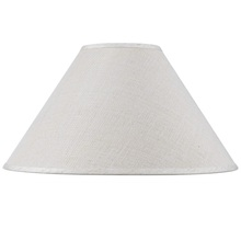 CAL Lighting SH-8110-19 - Hardback fine burlap shade