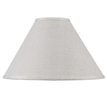 CAL Lighting SH-8110-21 - Hardback fine burlap shade