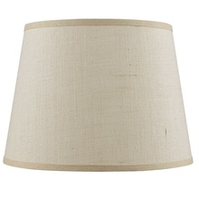 CAL Lighting SH-8111-16L - Hardback fine burlap shade