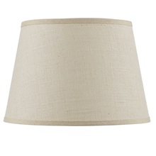 CAL Lighting SH-8111-18L - Hardback fine burlap shade