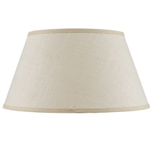 CAL Lighting SH-8111-20 - Hardback fine burlap shade