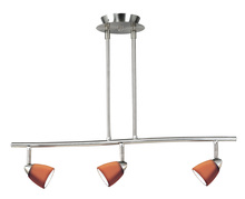 CAL Lighting SL-954-3-BK - 3 Lights,Serpentine light, 120V, GU-10, 50W each,bulbs included