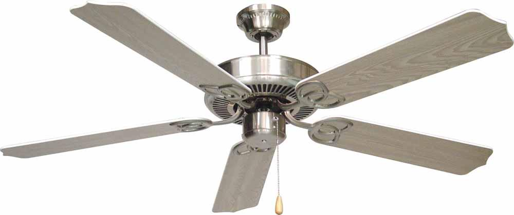 Champions Lighting in Houston, Texas, United States,  1T8QL, Minster Brushed Nickel Ceiling Fan, Minster